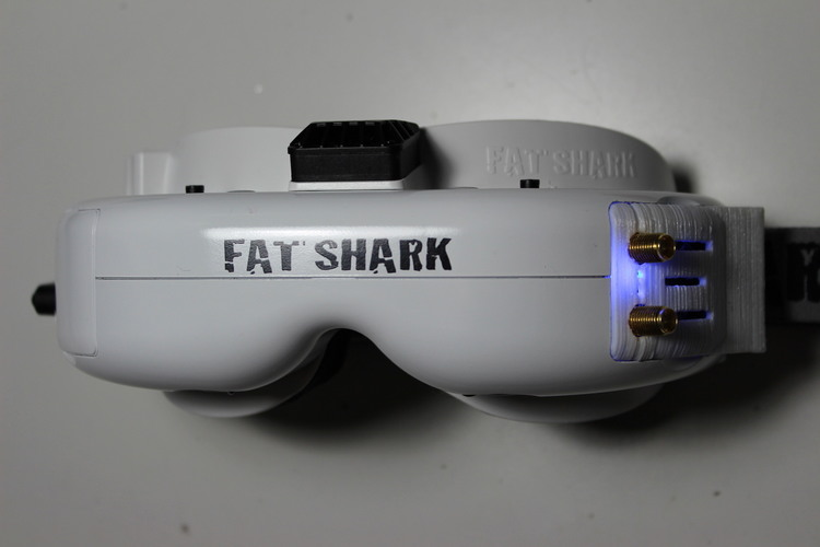 Fatshark cover for RX5808 OSD receiver 3D Print 122647