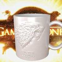 Small Game Of Thrones Stark Coffee Mug 3D Printing 122712