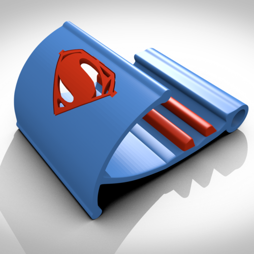Superman support tablette/smartphone 3D Print 122731