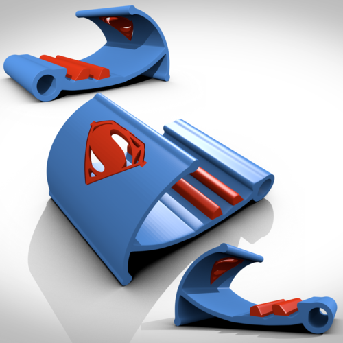 Superman support tablette/smartphone 3D Print 122734