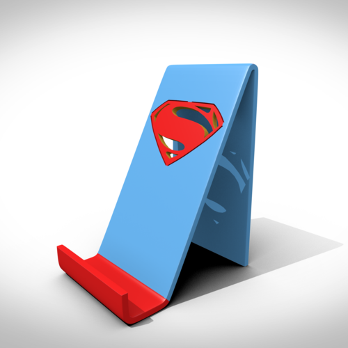 Superman support smartphone 3D Print 122744