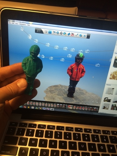 little boy  - after ski  3D Print 122787