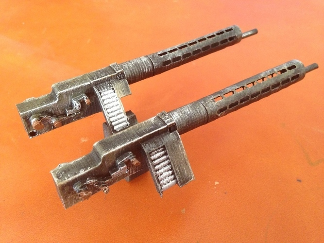Spandau Machine Gun for Fokker DR1 - Electrifly by Great planes  3D Print 122801