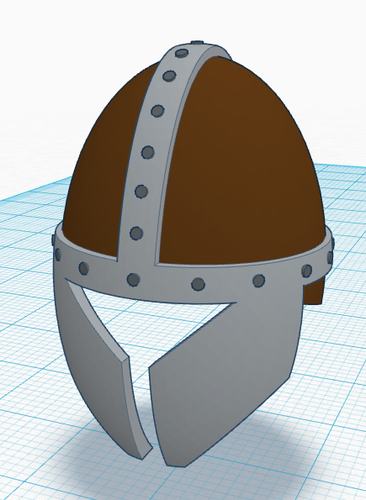 Simple Helmet 3D Print 122817