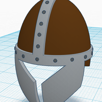 Small Simple Helmet 3D Printing 122817