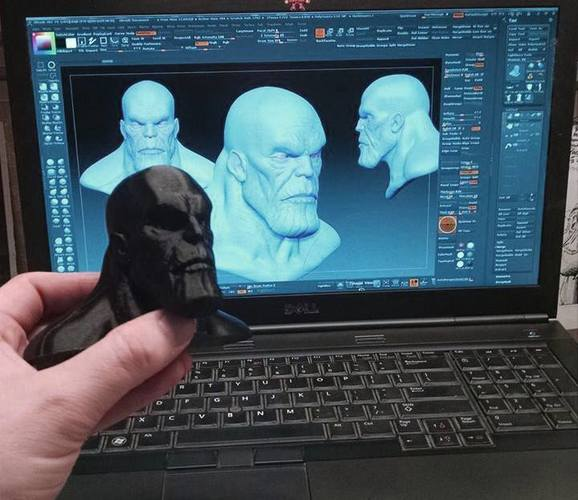 Thanos From Guardians of the Galaxy 3D Print 122869