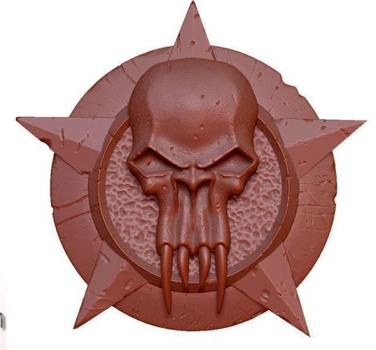 Darkwatch Badge 3D Print 122872
