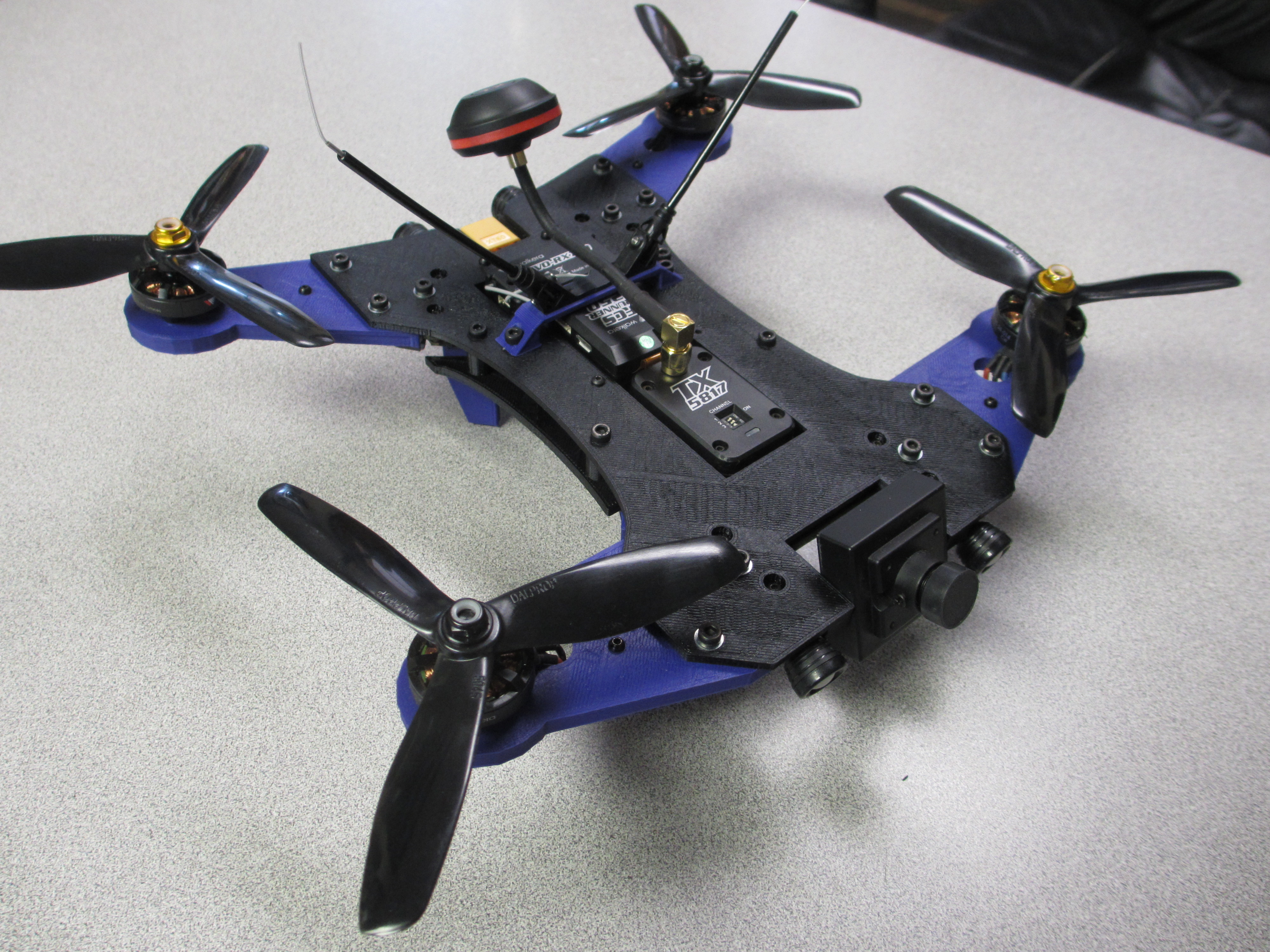 picture regarding 3d Printable Drone referred to as Walkera Runner 250 Racing Drone Complete Body/ S Variation 2 @ Pinshape