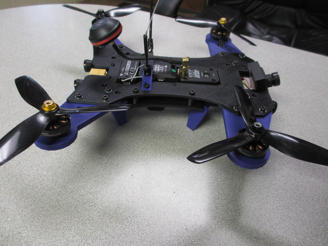 Walkera Runner 250 Racing Drone Full Frame/ Shell Version 2  3D Print 123013