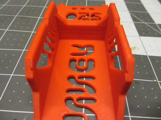 V2 Walkera Runner 250 Bottom Plate/ Frame & Battery Brace 3D Print 123081
