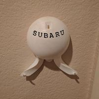 Small Subaru key holder 3D Printing 123095