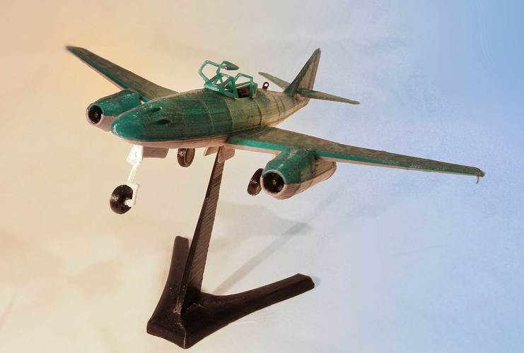 Messerschmitt Me 262 Model 3D Print 12310
