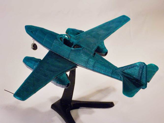 Messerschmitt Me 262 Model 3D Print 12312