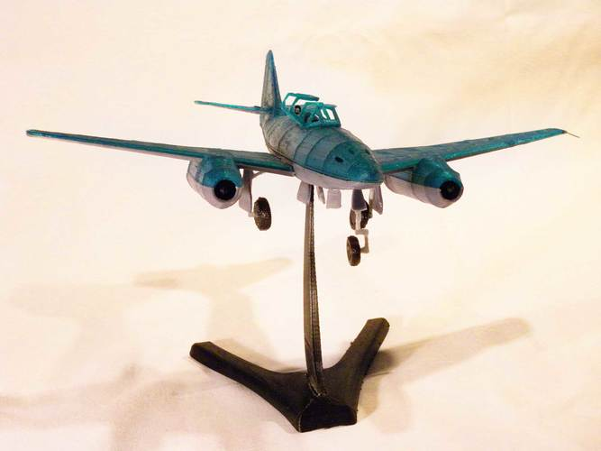 Messerschmitt Me 262 Model 3D Print 12314