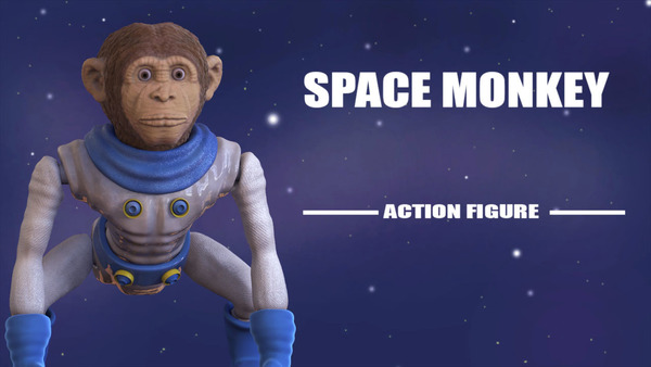 Medium Space Monkey 3D Printing 123151