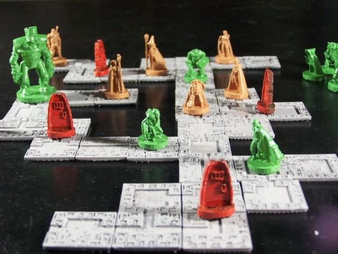 Pocket-Dungeons (Beta Version) 3D Print 1232