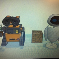 Small Wall-E 3D Printing 123203