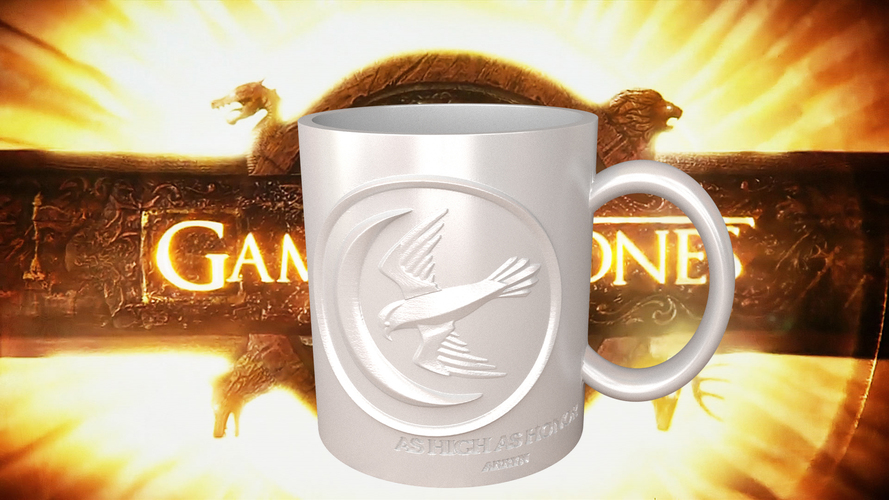 Game Of Thrones Arryn Coffee Mug 3D Print 123254