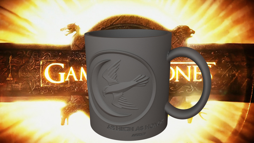 Game Of Thrones Arryn Coffee Mug 3D Print 123256