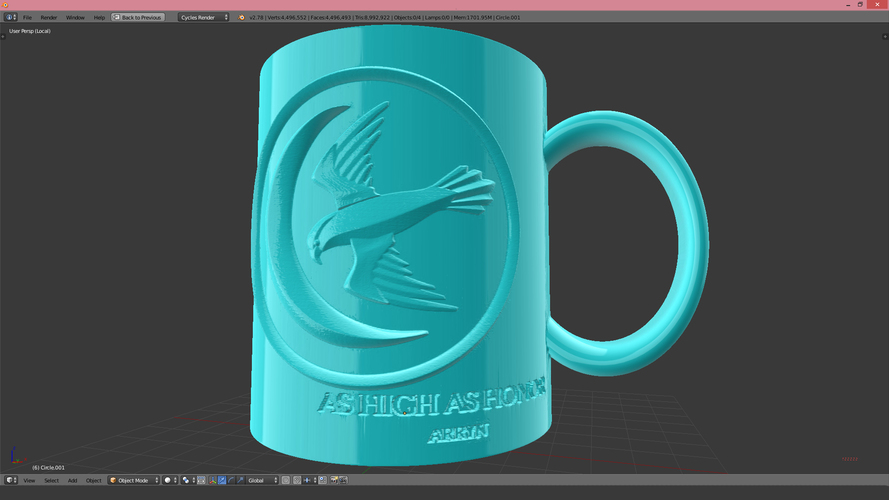 Game Of Thrones Arryn Coffee Mug 3D Print 123258