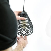 Small LAMPION LAMP SHADE 3D Printing 123306