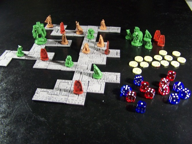 Pocket-Dungeons (Beta Version) 3D Print 1234
