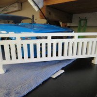 Small RC Garage Railing 3D Printing 123415
