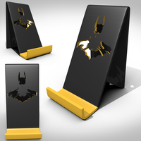 Small Support smartphone batman 3D Printing 123476