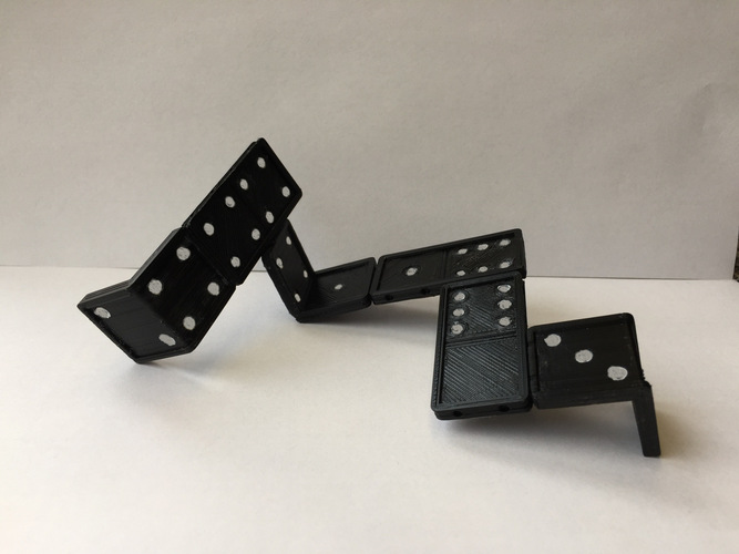 3D domino for in space 3D Print 123633