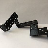 Small 3D domino for in space 3D Printing 123633