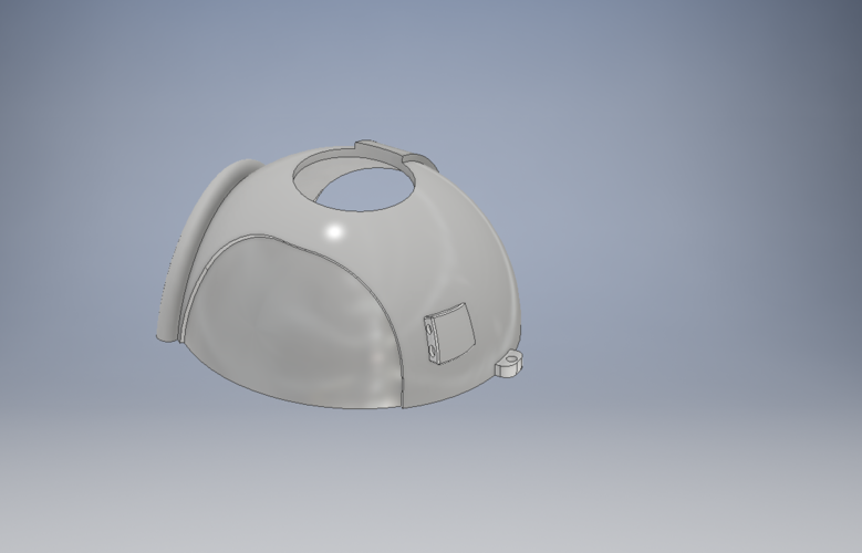 Space Helmet Door Knob Cover 3D Print 123768