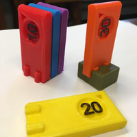 Small Game Value Chips 3D Printing 123777