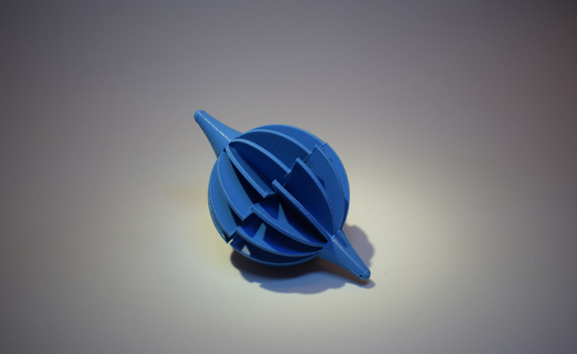 Space Curve Ball 3D Print 123798