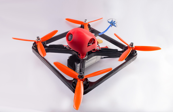 Medium Viper X210 FPV Quadcopter Frame 3D Printing 123893