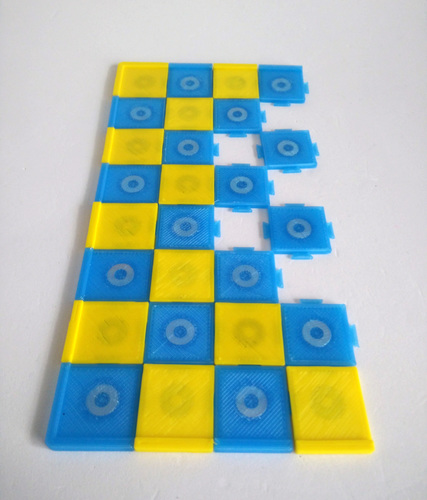 Pokemon Chess Set (Magnetic) 3D Print 123897