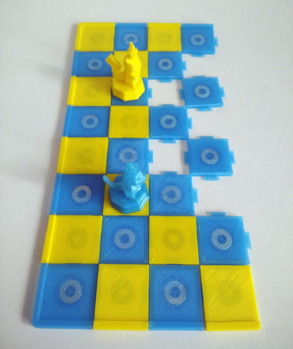 Pokemon Chess Set (Magnetic) 3D Print 123898