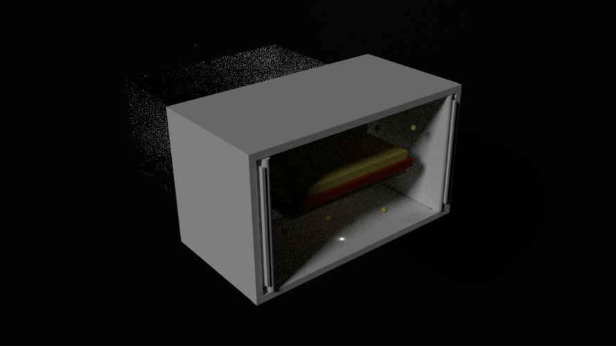 Space Sandwich Consumption Device 3D Print 124002