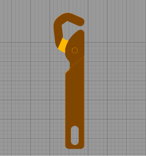 Universal wrench 3D Print 124056