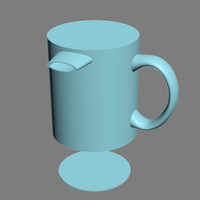 Small space_coffee_mug 3D Printing 124158
