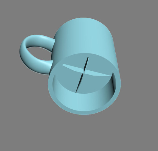 space_coffee_mug 3D Print 124161