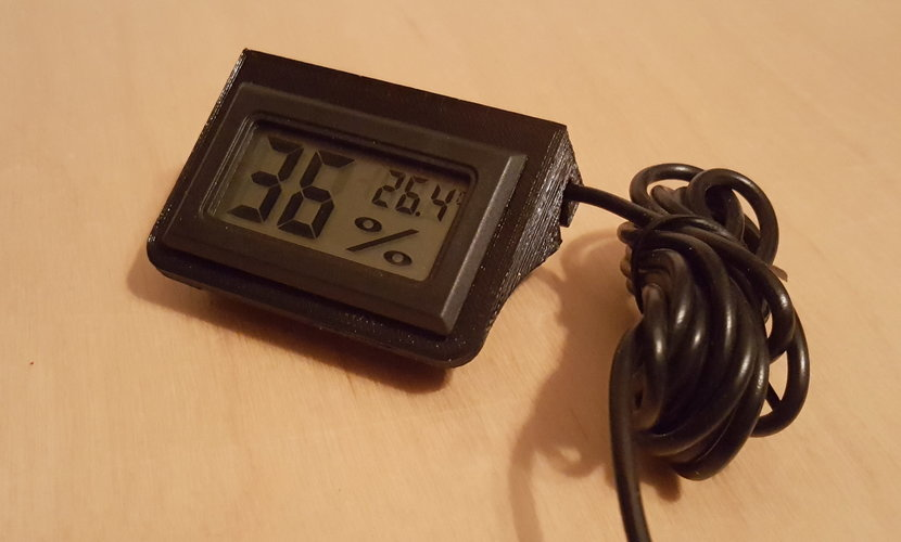 Digital thermometer holder 3D Print 124166