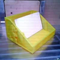 Small Chinese Guardian Business Card Holder 3D Printing 124214