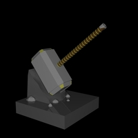 Small Hammer Replica 3D Printing 124281