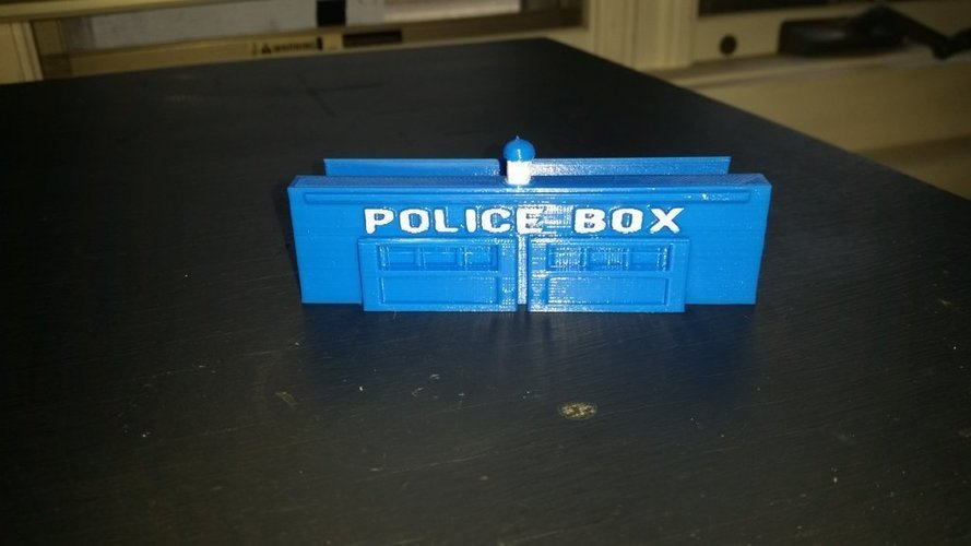 doctor who card holder 3D Print 124304