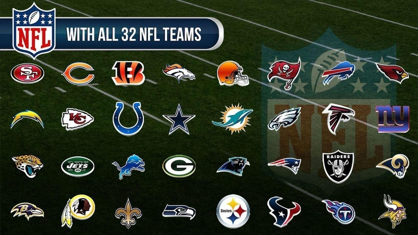 Image result for nfl teams 2017