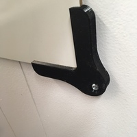 Small Dry Erase board mounts, corner 3D Printing 124388