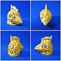 Small Rooster Lamps 3D Printing 124425