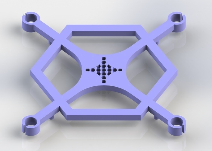 Mini Quadcopter Frame 3D Print 124500