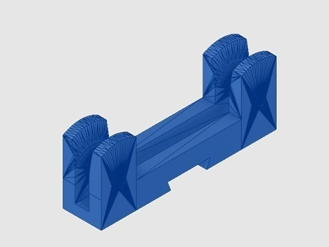 Remixed adjustable spool holder 3D Print 124556