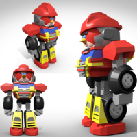 "Small FIGURINE TERENCE "" SENTINEL PRIME "" 3D Printing 124584"